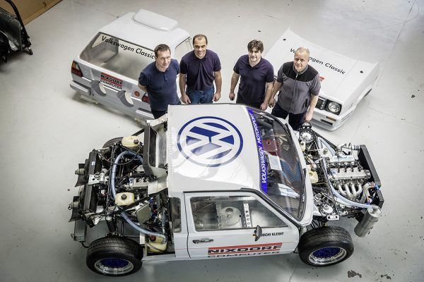 Volkswagen S Pikes Peak Twin Engine Golf