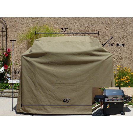 Formosa Covers Bbq Grill Cover Up To 45 Inch Brown Infrared