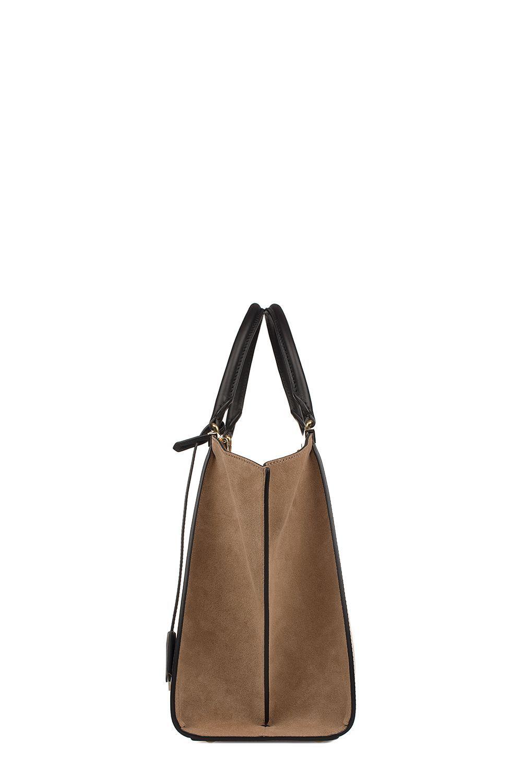 a30b62389fc6 FENDI BLACK-BROWN 3JOURS LEATHER TOP HANDLE BAG.  fendi  bags  shoulder bags   hand bags  suede