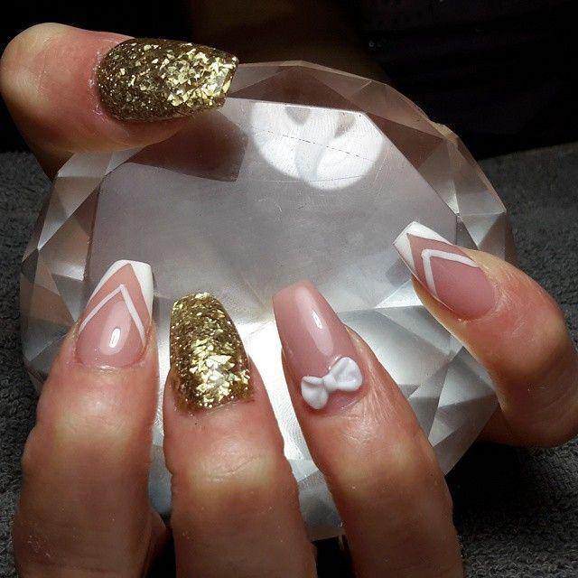 #nails #notpolish #coffinnails #coffinshape #naildesign #nailart