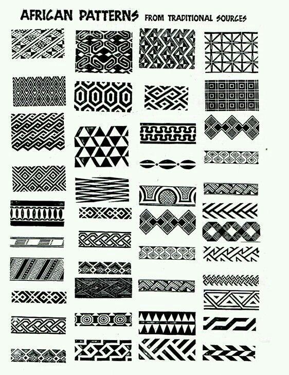 Afrikanisches Muster Afrikanisches Muster Afrikanische