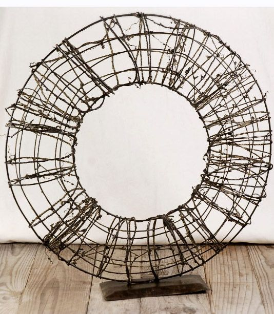 twig wire wreath with stand 18 wreath - Wire Wreath Frame Wholesale