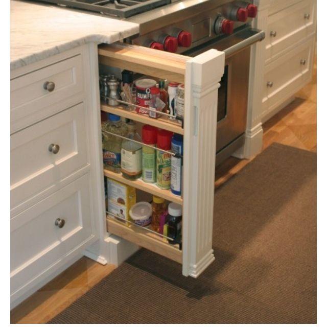 Hidden Storage Kitchen Remodel Kitchen Design Home