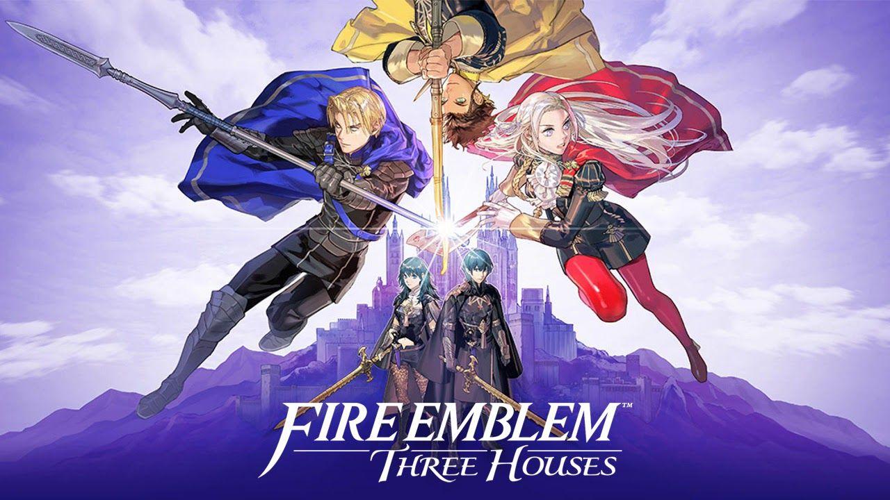 Fire Emblem Three Houses Hd Wallpaper Fire Emblem New Fire Emblem Fire Emblem Games
