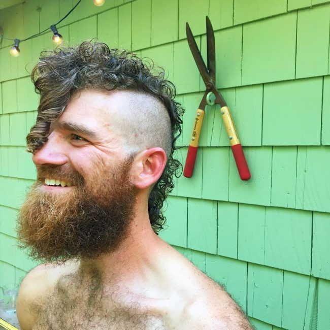 Curly Mohawk Men
