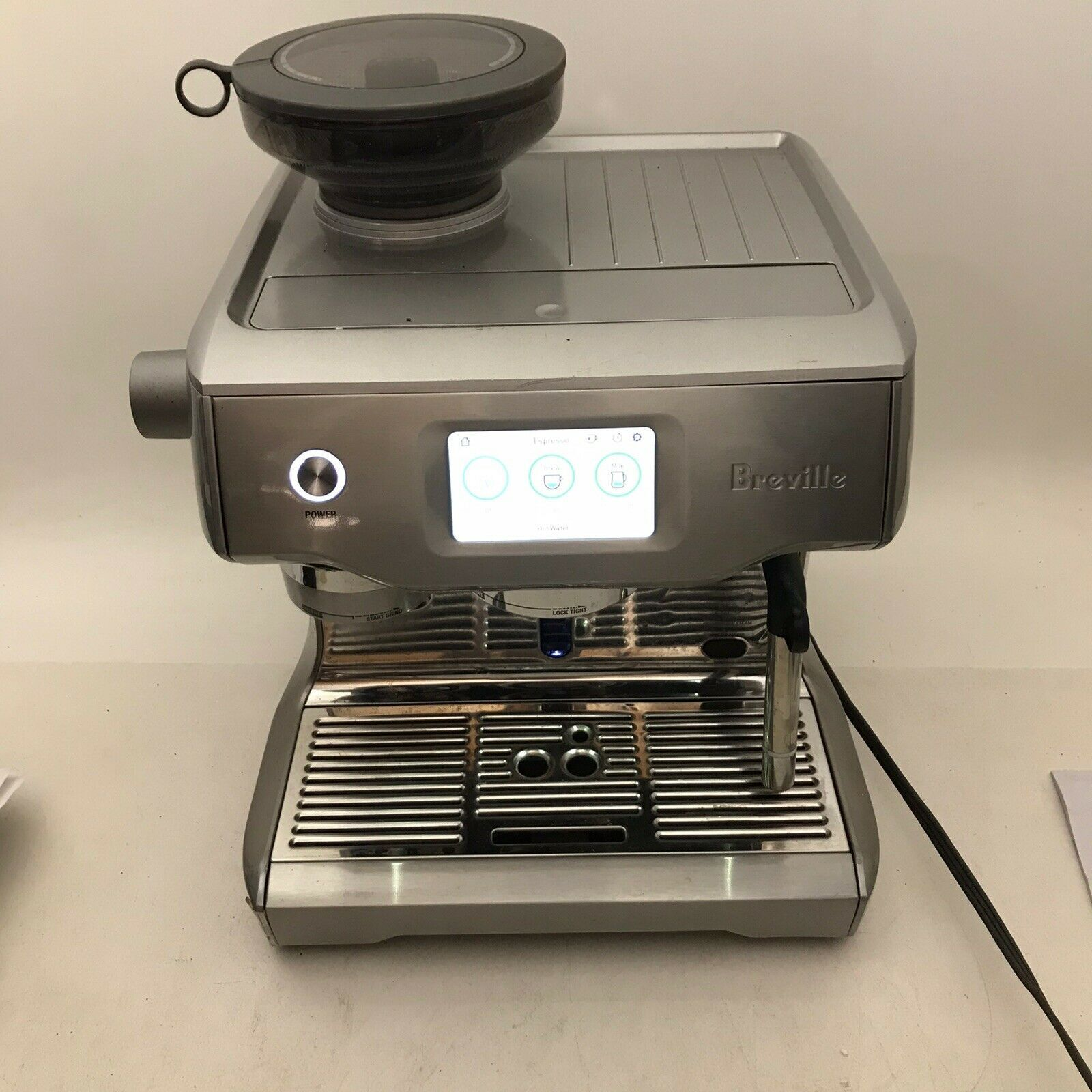 Details About Breville Bes990bss Oracle Touch Fully Automatic Espresso Machine With Grinder In 2020 Espresso Espresso Machine Kitchen Best Espresso Machine