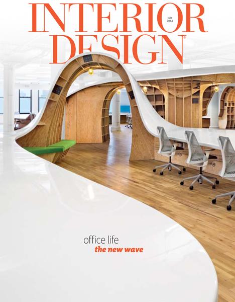 Interior Design Magazine May 2014 Cover