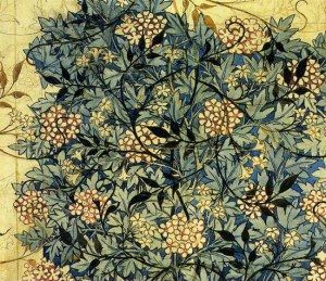 papel tapiz William Morris.