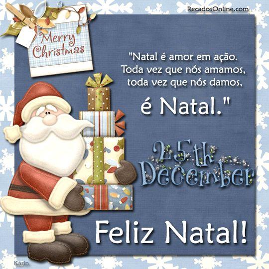 ALEGRIA DE VIVER E AMAR O QUE É BOM!!: DIÁRIO ESPIRITUAL #335 - 19/12 - Natal