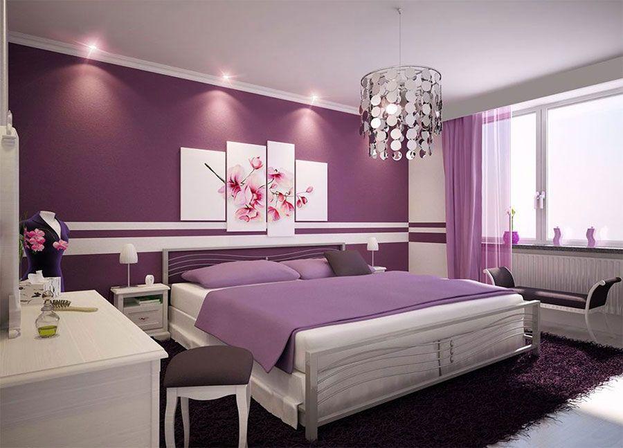 Parete Camera Da Letto Argento : Idee per colori di pareti per la camera da letto idee