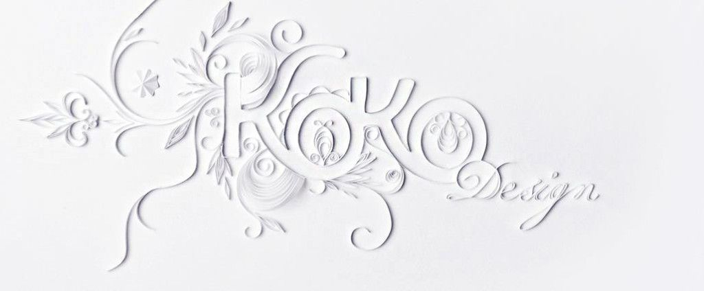 Quilled logo by KOKO