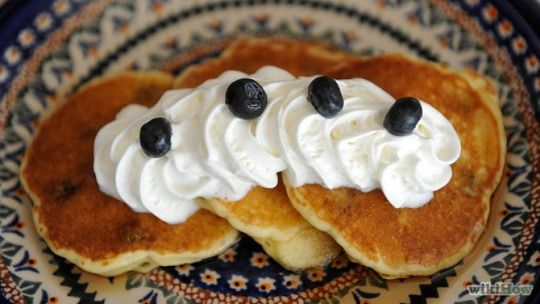 Wikihow to pancake 77 recipes including international recipes when the blueberries are available in abundance a great breakfast on the weekend should include blueberry pancakes easy to make they also taste fantastic ccuart Gallery
