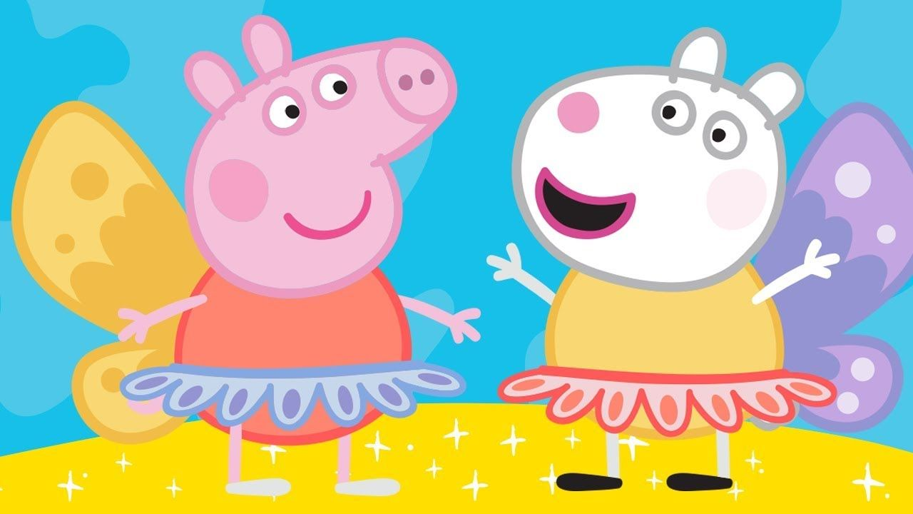Peppa Pig English Episodes | Peppa Pig's Ballet Lesson | Peppa Pig Official #peppapig