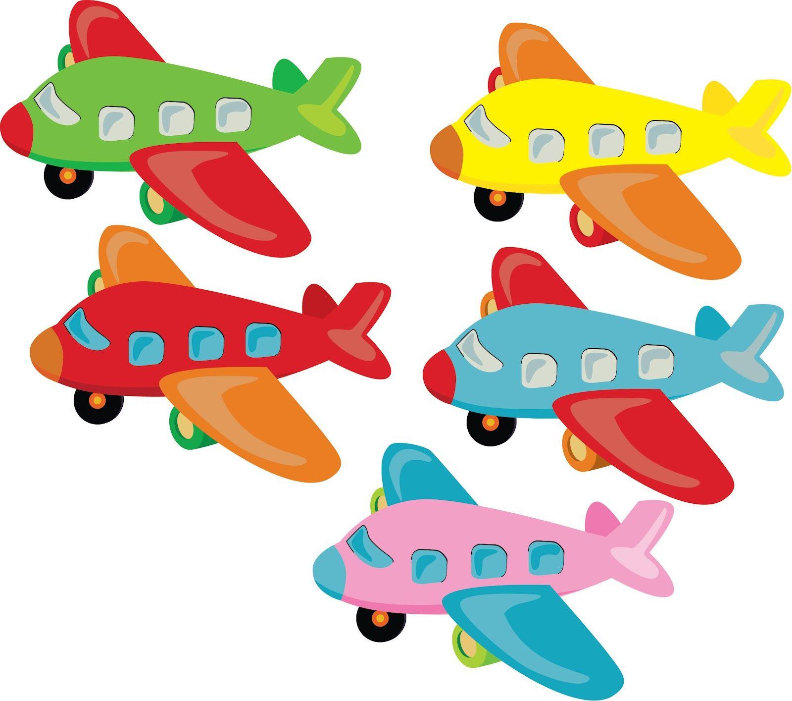 Самолет картинки для детей цветные