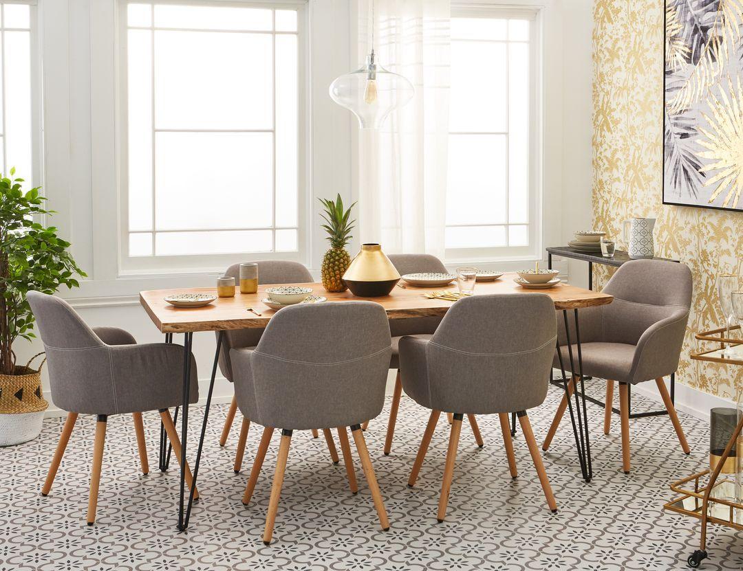 Reno Solid Acacia Wood Dining Table