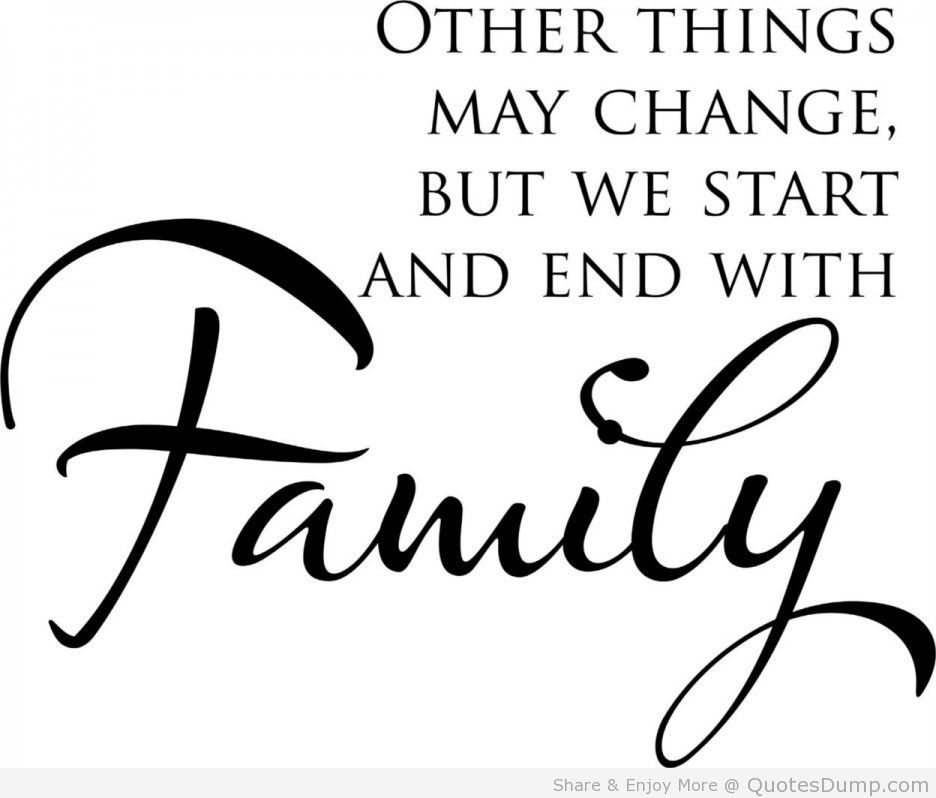 Quotes About No Family Support: Family Is Important Because Love Is Being Shared By Many