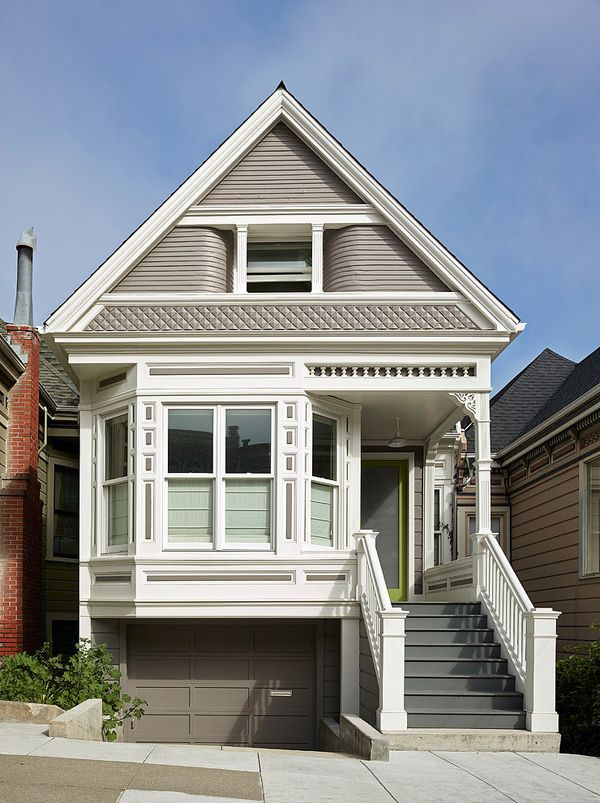 Stunning Transformation Of San Francisco Victorian House Victorian Homes Exterior San Francisco Victorian Houses Victorian Homes