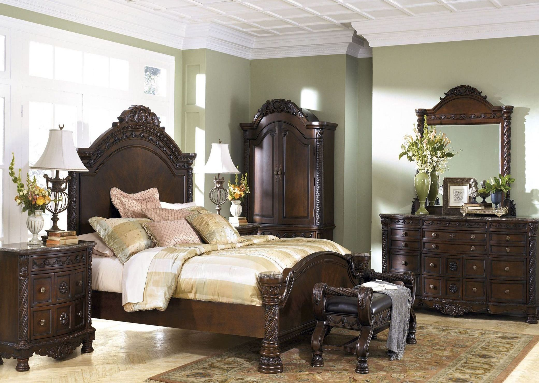 north shore panel bedroom set with images  bedroom set