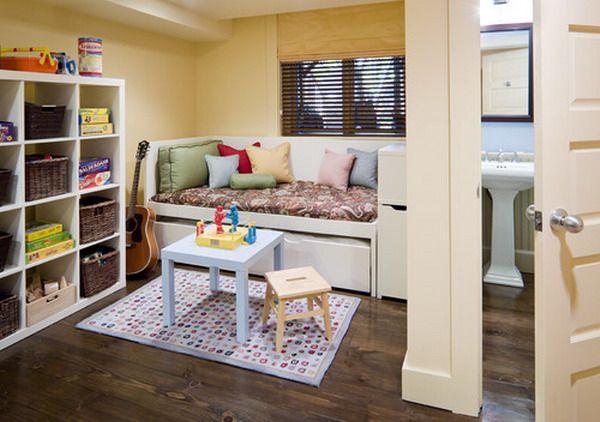 Kids Bedroom with Storage Bed Furniture