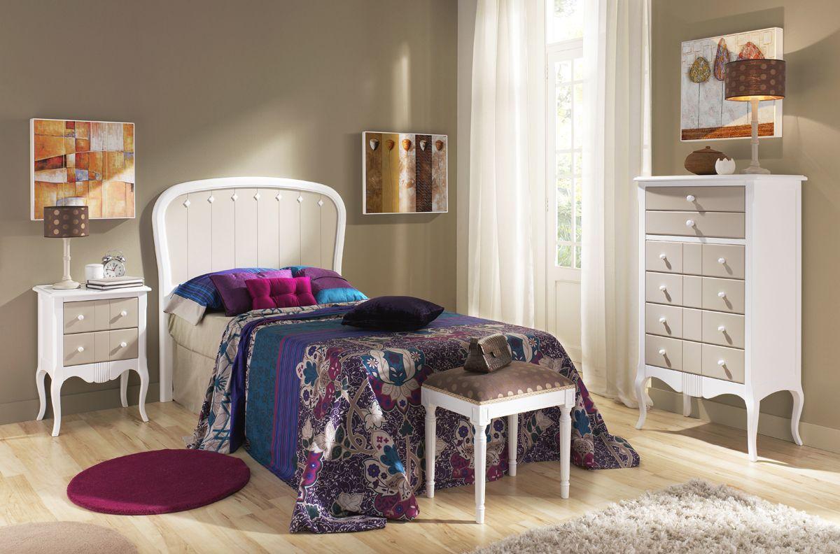 dormitorios juveniles de madera estilo cl sico m s info