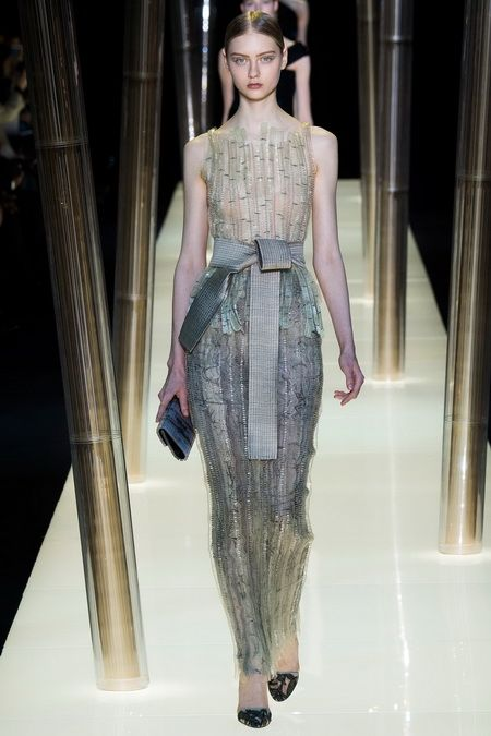 FASHION PEOPLE | Armani Privé Spring2015 Couture