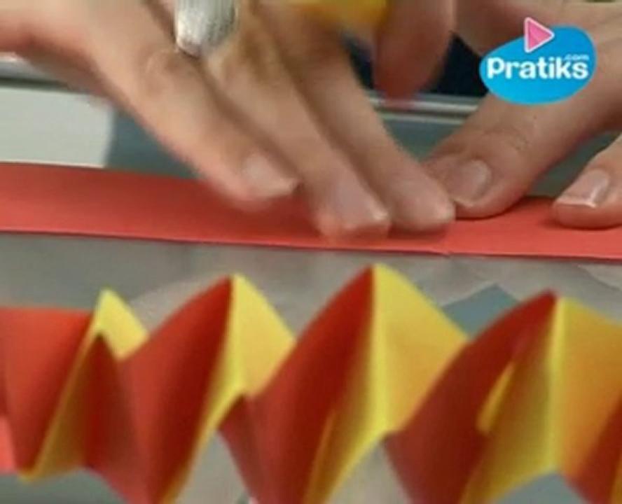 Comment Faire Guirlande En Papier