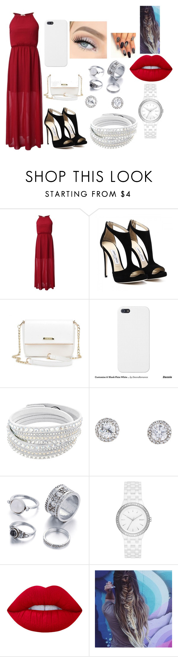 """""""Untitled #67"""" by babiiclakes on Polyvore featuring DKNY and Lime Crime"""
