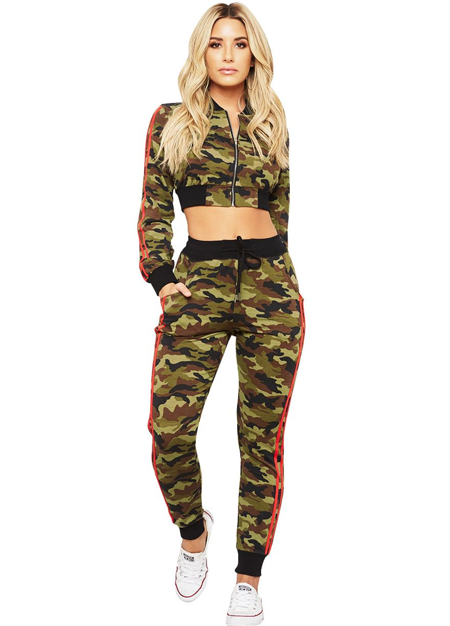 be85c2460d81 Zip Me Up Camo Print Two Piece Set_Pant Set_Women Set_Sexy Lingeire | Cheap  Plus Size Lingerie At Wholesale Price | Feelovely.com