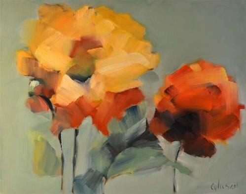 """""""Yellow Flowers"""" by Cheryl Wilson"""