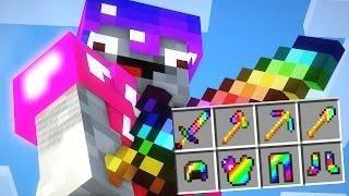 Op Regenbogen Schwert Rustung Minecraft Lucky Block Battle