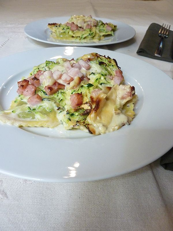 Charo y su Cocina: PASTA FRESCA RELLENA AL HORNO (TRADICIONAL)