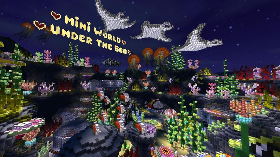 Download mini world and learn more details about mini