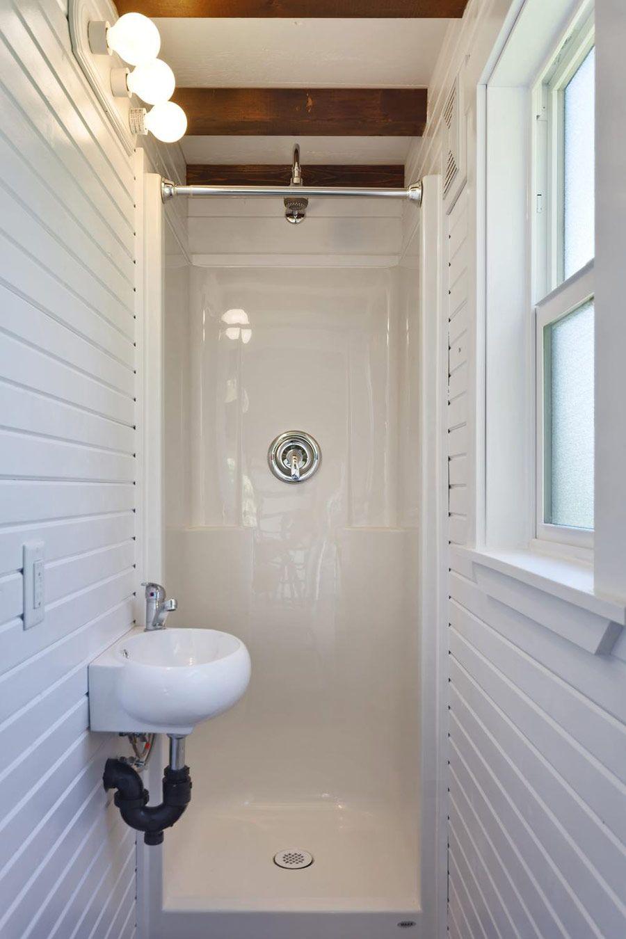 The Loft Tiny House Bathroom Tiny Bathrooms Small Bathroom