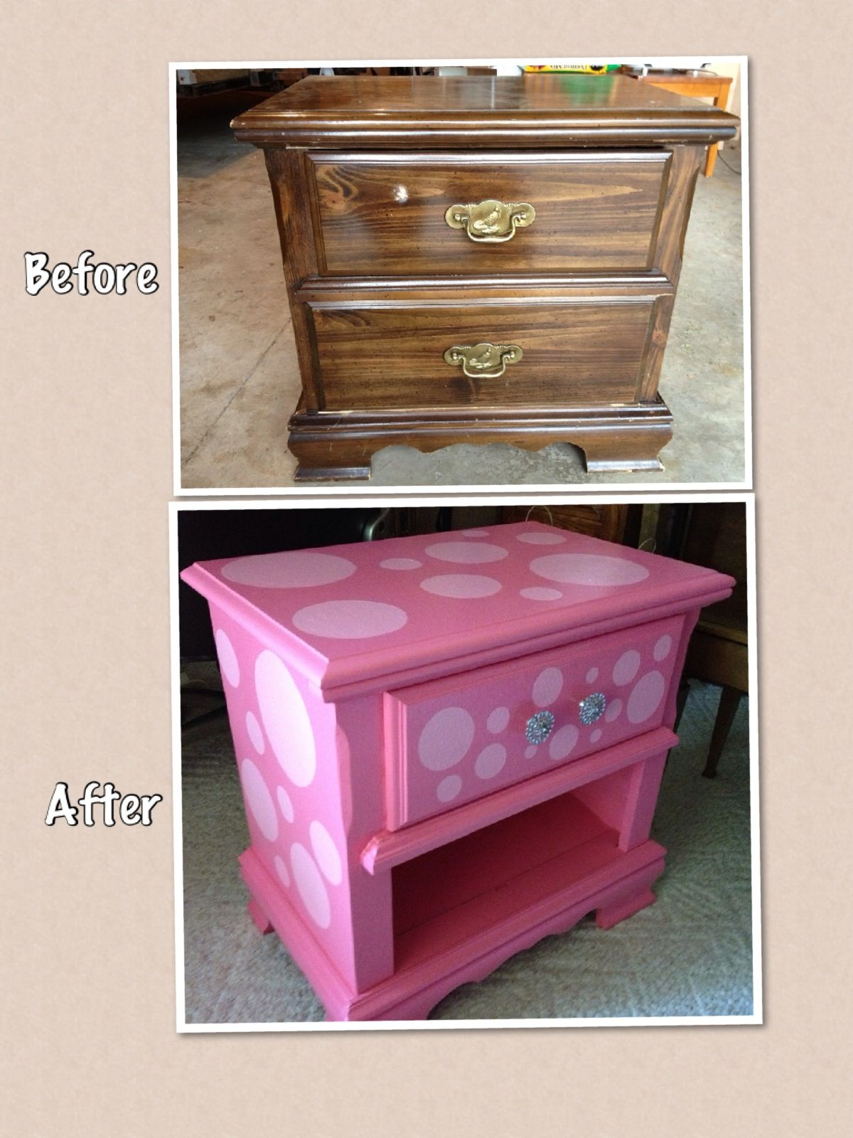 Upcycled Nightstand   Perfect For A Childu0027s Room!