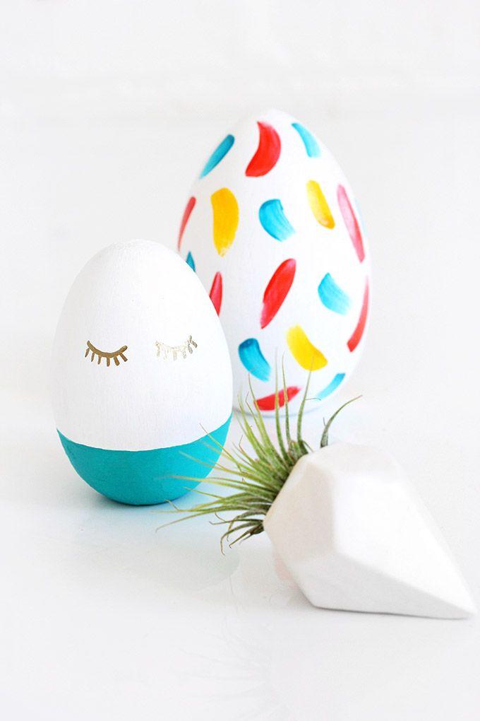 La Pascua ya está aquí y cada vez nos animamos más con eso de - huevos decorados