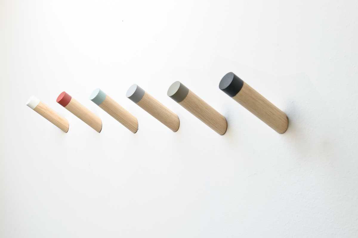 Minimalistischer Wandhaken Im Skandinavischem Design Wandhaken Garderobenhaken Skandinavisches Design