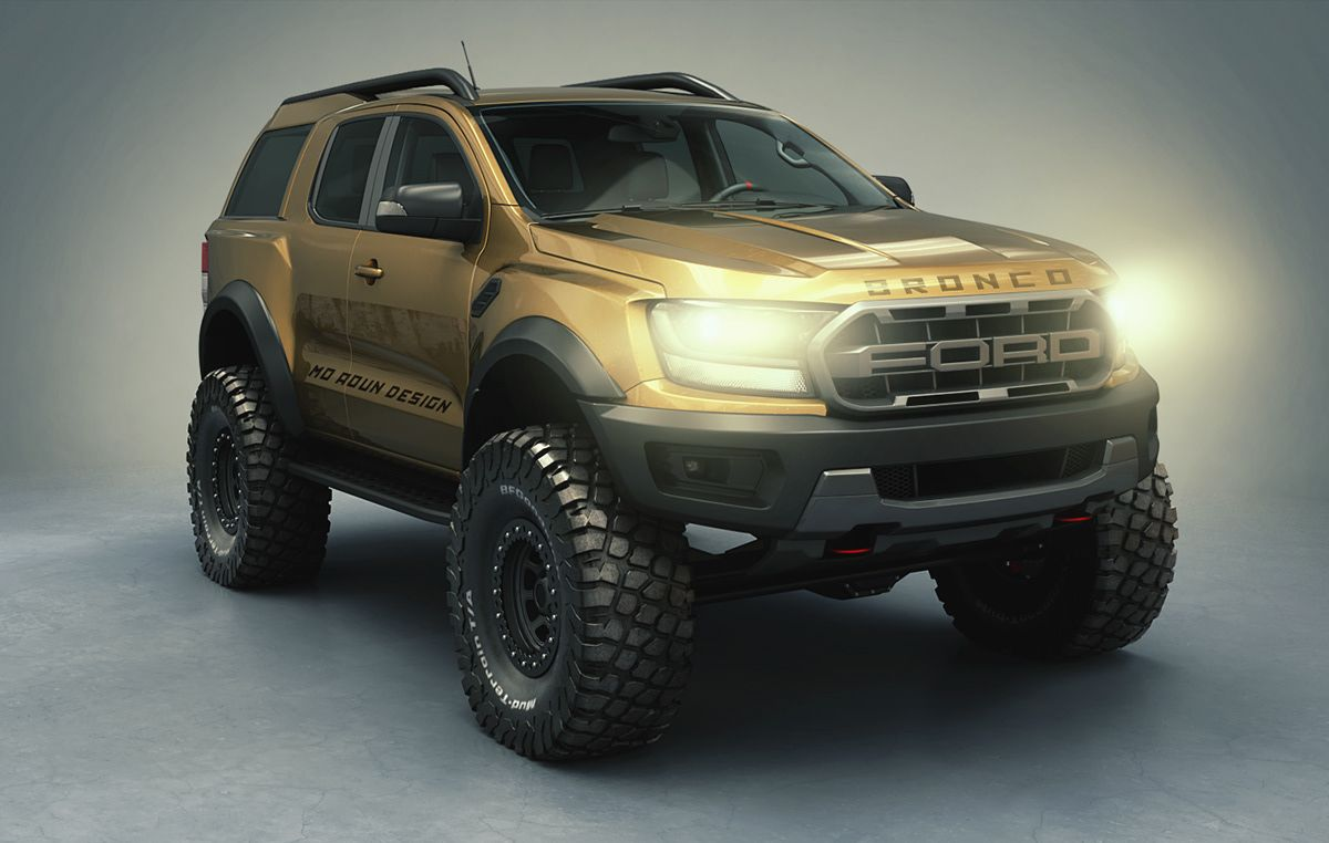 Bronco Raptor 2021 On Behance In 2020 Ford Bronco New Bronco