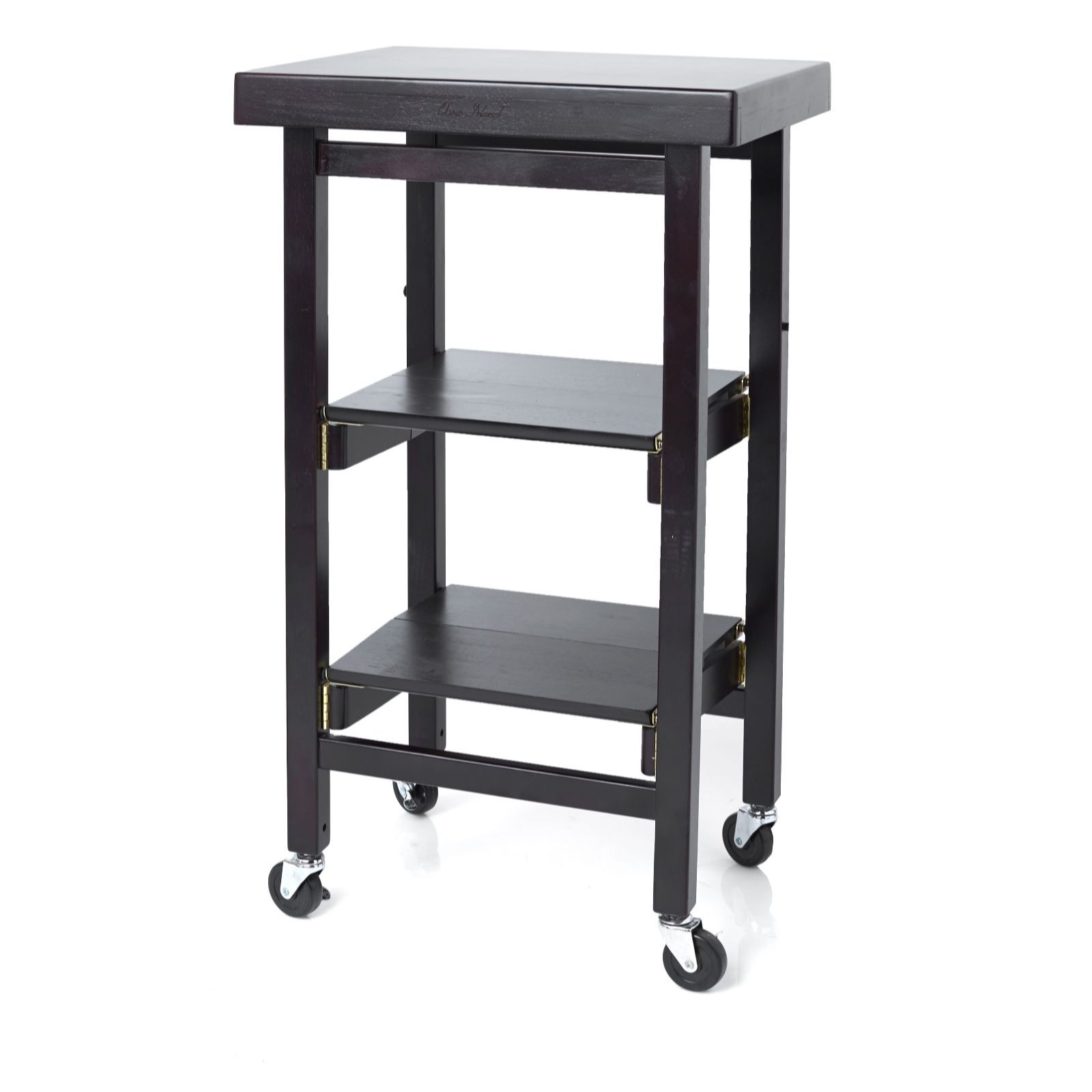 QVCUK Clearance Offer 804516 Folding Island The Mini Kitchen Trolley ...
