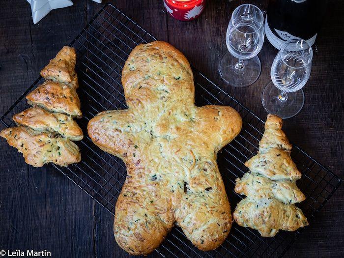 Männele ou brioche de Noël salée pour vos apéritifs festifs