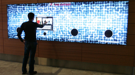 Digital Walls digital signage-the future of advertising. with it's small form
