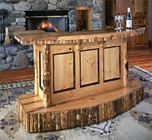 Custom Bar Top Ideas | Rustic Bar Our Portable Bar Offers A Quick Party Set  Up