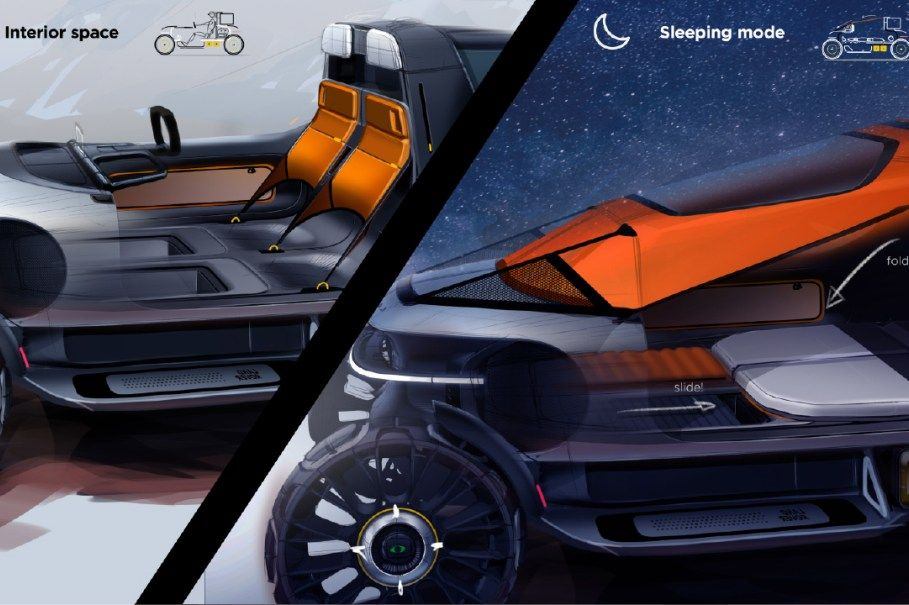 Land Rover BackPacker Concept Pares Back Complexity in