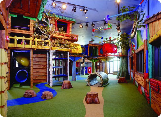 Imagine having one of these at home for the kids and big for Indoor playground design ideas