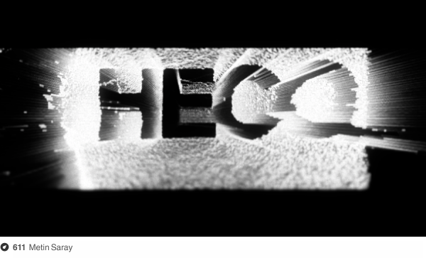 a5676b3f364 A frame from a video work for Hecq s Steeltongued track. Done in Processing  with a