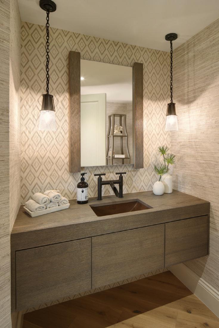 - Today's Traditional Powder Room Lighting, Powder Room Design