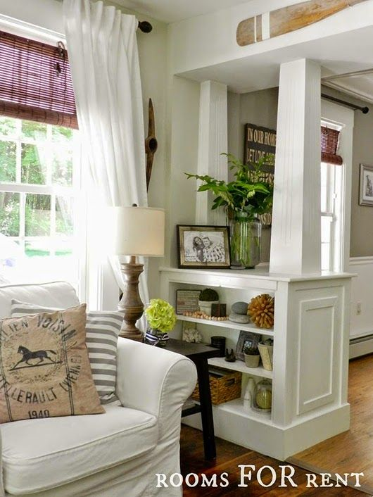 Ideas deco c mo decorar aprovechando pilares y columnas pinterest columnas pilares y - Como decorar columnas ...