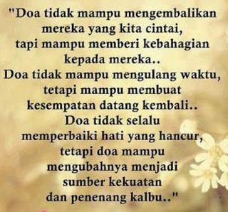 gambar kata kata bijak tentang doa  fitha  Quotes
