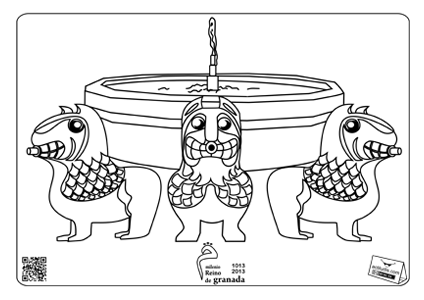 Fuente De Los Leones Infantil Art Character Fictional Characters