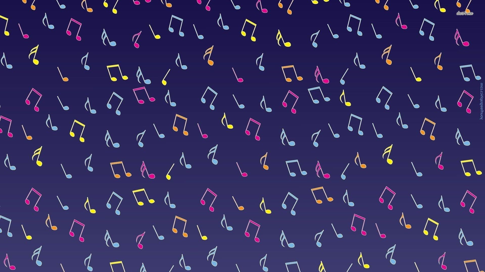 music notes wallpaper hd backgrounds images, 1920 x 1080 (254 kB)
