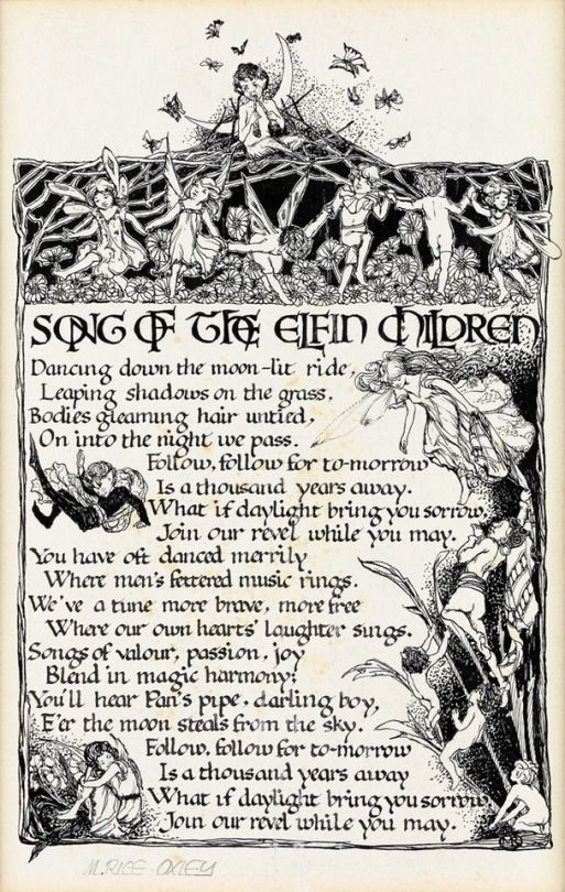 The Fairies (With images) Songs, Gardening for kids, Old